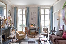 Elegant Paris Themed Living Room Decor Home Decorating Ideas