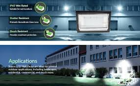 ul dlc listed led 120w wall pack outdoor lighting 5000k cool
