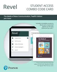 Revel For The Media Of Mass Communication Combo Access Card 12th Edition