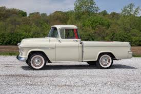 1955 Chevrolet Cameo   Fast Lane Classic Cars 1957 Chevrolet Cameo For Sale 75603 Mcg 1955 Chevy A Appearance Hot Rod Network 1956 Pickup Amazing Frameoff American Dream 195558 The Worlds First Sport Truck 1958 Stock Photo 20937775 Alamy Gateway Classic Cars 1656lou Forgotten Truckin Magazine Sale Classiccarscom Cc794320 Tubd Snub Nose Custom 43116