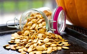 Roasting Pumpkin Seeds In The Oven Cinnamon by Crunchy Roasted Pumpkin Seeds Living Sweet Moments