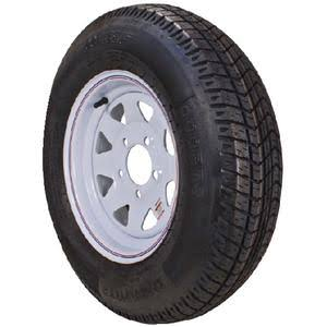 "Loadstar 30540 12"" Bias Tire and Wheel Assembly / 480-12 B/"