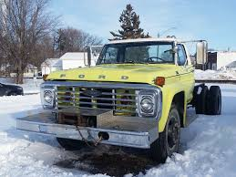 Pierce Body 1978 Ford F 700 Ex Fire Truck For Sale