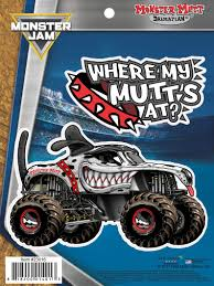 100 Monster Truck Decals Jam Mutt Dalmatian 2 Stickers For Etsy