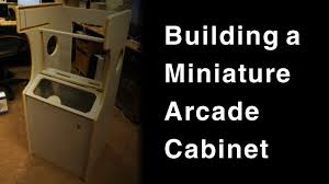 Diy Mame Cabinet Kit by Building A Mini Arcade Cabinet Retropie Mame Youtube