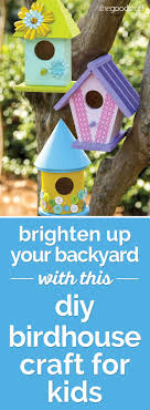 How To Make A Spring DIY Birdhouse Craft For Kids | Coupons.com Backyard Birdhouse Youtube Free Images Insect Backyard Garden Inverbrate Woodland Amazoncom Boys Woodworking Bbw81 Cardinal Nest Box Bird House Decorative Little Wren Haing Yard Envy Table Lawn Home Green Lighting Wooden Modern Take On A Stuff We Love Pinterest Shop Glory 8125in W X 85in H 8in D White Discovery Channel Birdhouse Wooden Nesting Baby Birds In My Bird House How To Make Spring Diy Craft For Kids Couponscom