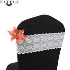 US $80.01 49% OFF|100pcs/Pack White/Black/Ivory Spandex Stretch Lace Chair  Cover Bands Sashes For Wedding Party Event Decorations With Free Shippi-in  ... Amazoncom Mikash 75 Pcs Polyester Banquet Chair Covers Details About 10 Black Satin Chair Sashes Ties Bows Wedding Ceremony Reception Decorations Us 8001 49 Off100pcspack Whiteblackivory Spandex Stretch Lace Cover Bands Sashes For Party Event With Free Shippiin Cheap Garden Supplies And White Wedding Reception Ivory Gold Pin By Officiant Guy La On Los Angeles Venues Blancho Bedding Set Of 2 For Free Shipping 100pcpack Elastic Lansing Doves In Flight Decorating 2982 35 Offnew Arrival 20pcs Hotel Decoration Universal Decorin Hot Offer Ad5b 50pcs Washable White All You Need To Know About Bridestory Blog