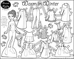 Coloring Page Endearing Paper Doll Coloring Surprising Pages