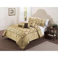 Bed Comforter Set by Casa Bexley 7 Piece Bedding Comforter Set Walmart Com