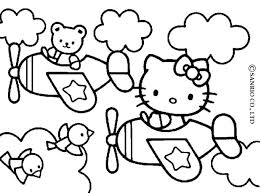 Full Image For Hello Kitty Christmas Coloring Pages Online And Friends Page