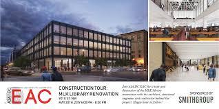 100 Martinez Architects Construction Tour MLK Library Renovation AIADC