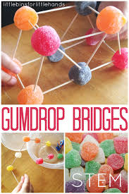 Gumdrop Christmas Tree Challenge by Gumdrop Bridge Building Stem Engineering Activity