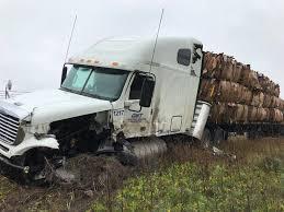 100 Bangor Truck Bridgewater Accident Shuts Down Route 1