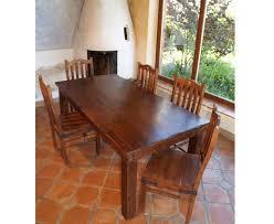 esszimmertisch dunkel als kolonialmöbel mit 180x78x90cm