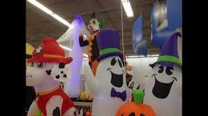 Walmart Halloween Blow Up Decorations by Walmart Halloween Inflatables 2017 Youtube