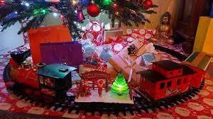 Slimline Christmas Tree Asda by Holiday Express Christmas Train Set Kids George At Asda