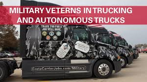 Military Veterans In Trucking & Autonomous Trucks - YouTube Traing For Veterans Cape Fear Community College Crete Carrier Gives Five New Trucks And Inducted Them Into Trucking Industry Wreaths Across America Honor Vets Your First Year As A Trucker Driver What You Should Expect United A Memorial Day Message To All From Dart Transit Company Truck Driving Jobs Cdl Class Drivers Jiggy 8 Reasons Hire Veteran Melton Mile Marker For Colorado Wyoming Pilot Program Military On Road Dog Fmcsa Penske Support Programs Place In Commercial