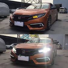 hid headlights for honda civic 2016 2017 front bumper led bi xenon