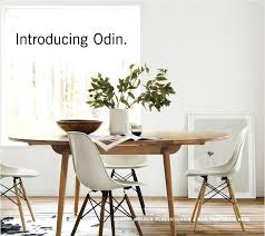 Dwr Dining Table Design Within Reach Otherworldly New Tables From Norm Architects Milled Eos