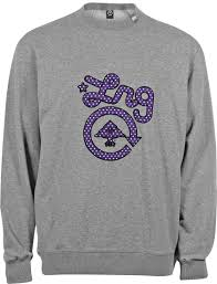 grass roots crew neck sweater charcoal heather
