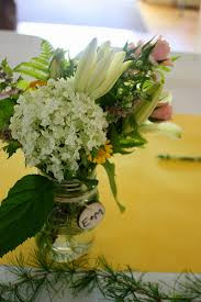 DIY Wedding Flowers Tutorial Wildflower Garden Flower Mason Jar Centerpieces