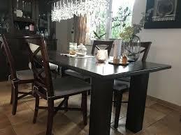 esszimmer tisch 6 stühle echtholz kolonialstil