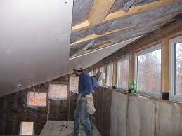 Hanging Drywall On Ceiling Or Walls First by Brainright Drywall