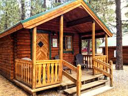 Affordable Rustic Sleeping Cabins at Mammoth Mountain RV Park