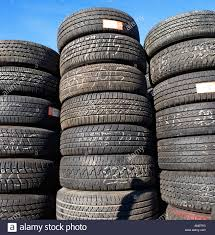 100 Used Truck Tires Old Tires Used Tires Retreads Transportation Car Truck Stock