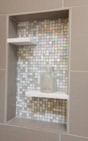 Tile Redi Niche Thinset by Floating Shelf In Shower Niche