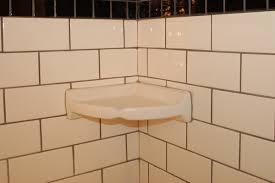 shower corner shelf install a tile soap dish icreatables