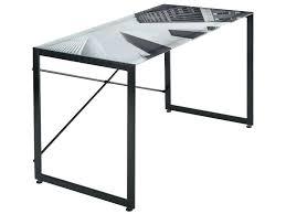 table bureau verre table bureau conforama bureau verre conforama table bureau