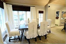 Dining Chair Slip Cover Short Room Covers With Arms Shorty Slipcover By