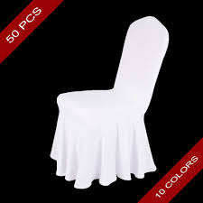 US $310.0 |50 PCS Universal Skirt Ruffled Lycra Spandex Stretch Banquet  Chair Cover Chair Seat Covers For Wedding Decoration Wholesale-in Chair  Cover ... Whosale Price Spandex Chair Band With Heartshaped Plastic Buckle Lycra For Wedding Chair Cover Sashes Party Decor Chairs Market Explore Plastic Office Fniture Wooden In Cheap Price Tkeer 4 Pcs Removable Washable Stretchy Ding Room Covers Protective Slipcovers Hotel Kitchen Restaurant Home 1piece White Universal Stretch Polyester Spandex Ft Rectangular Table Gold Tuxtail Accent Sculptware Purchase Rent Royal Lounge Purple Folding Paper Red Banquet