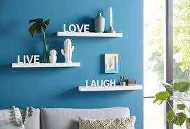 my home wandregal live laugh set 3 tlg dekoregal wanddeko mit schriftzug