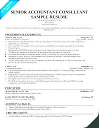 Senior Accountant Resumes Graduate Resume Sample Packed With Samples For Accounting