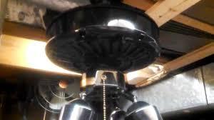 casablanca delta ii ceiling fan motor with bad bearings part 1