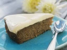 apfel möhren torte mit vanillequark