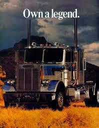 100 Custom Trucks Magazine Vintage White Freightliner Conventional Ad Big Trucks