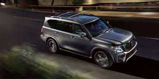 2019 Nissan Armada Full-Size SUV | Nissan USA 2018 Nissan Armada Platinum Reserve Wheel The Fast Lane Truck With Ielligent Rear View Mirror Palmer Vehicles For Sale 2017 Takes On The Toyota Land Cruiser With A Rebelle Yell Turns Rally Car Kelley Tractor And Pull Fair 2011 Nissan Armada Platinum 4wd Suv For Sale 587999 Adventure Drive First Of Pathfinder Titan 2015 Sv 5n1aa0nc1fn603728 Budget Sales 2012 Used 4dr Sl At Conway Imports Serving