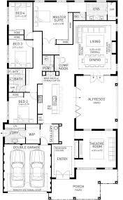 100 Modern House Floor Plans Australia North Hampton Single Storey Home Design Display Plan