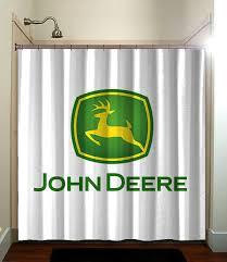 John Deere Bedroom Decorating Ideas by Various John Deere Tractor For Kids Shower Curtain Bathroom Home