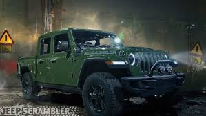 100 4 Door Jeep Truck Wranglerbased Scrambler Pickup Gets Artists Realistic