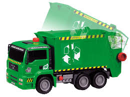 CARVILLE GARBAGE TRUCK 30CM | Carville At TOYS