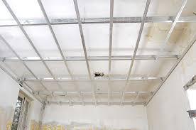 rail pour faux plafond suspendu rénover en image
