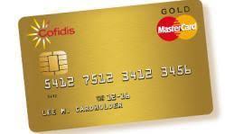 carte de crédit cofidis mastercard gold comparatif carte de