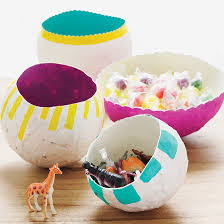 Craft DIY Papier Mache Balloon Bowl