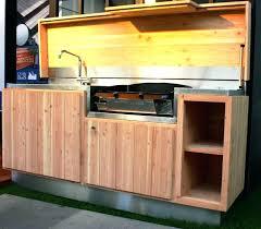 meuble cuisine exterieure bois meuble cuisine exterieure bois cuisine exterieur bois conception