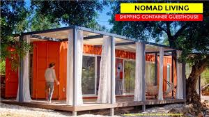 100 Shipping Container Guest House Nomad Living By Studio Arte Architecture Design 40 Ft House In Algarve Portugal