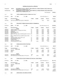 Analisis de costos unitarios leon arechua